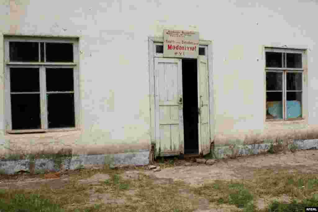Saatlı rayonunda mədəniyyət evi #1