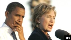 Barack Obama i Hillary Clinton