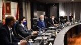 Prva sednica crnogorske Vlade na čelu sa premijerom Zdravkom Krivokapićem, Podgorica (7. decembar)