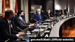 Prvo zasjedanje nove crnogorske vlade