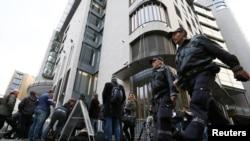 Gjykata në Oslo ku po mbahet procesi kundër Breivikut