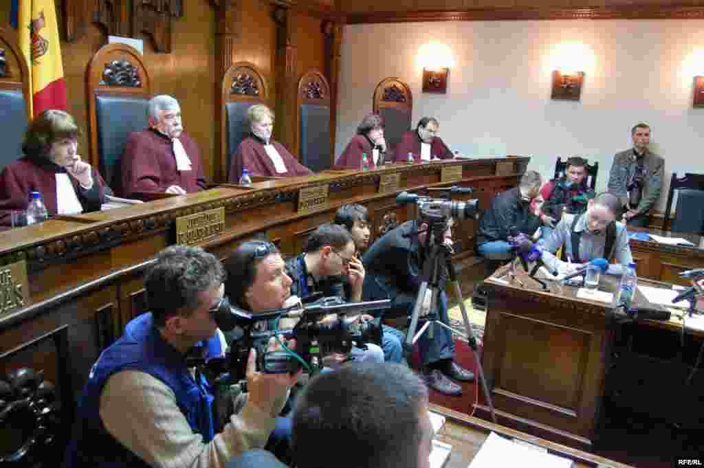Конституционный суд Молдавии утвердил результаты выборов в парламент, которые состоялись 5 апреля