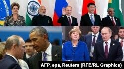 Общение Владимира Путина на саммите G20 в Турции