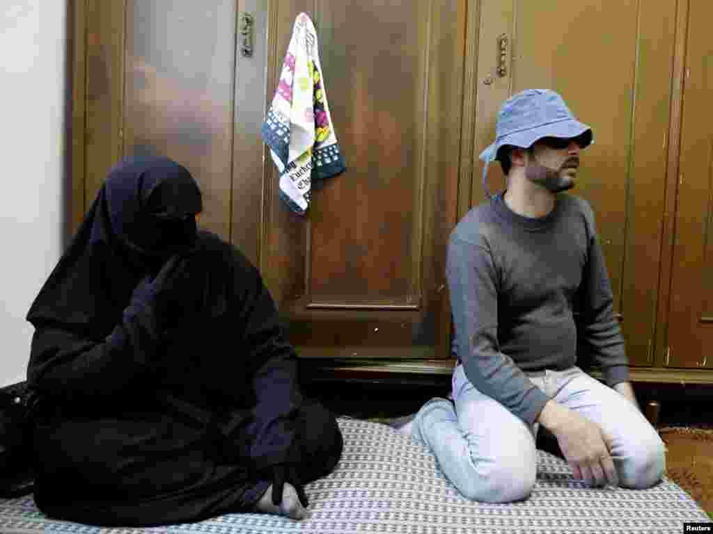 Сирийские беженцы в Аммане