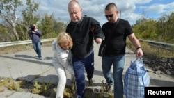 Володимир Жемчугов під час звільнення з полону