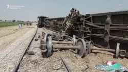 Bombing Blamed For Deadly Train Derailment In Pakistan