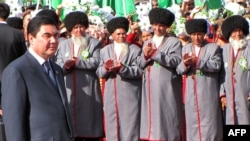 Turkmen President Gurbanguly Berdymukhammedov ranks among the heads of the most repressive countries.
