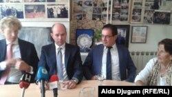 Advokatski tim Pokreta 'Majke enklave Srebrenica i Žepa'