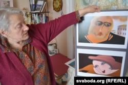 Вера Гоціна з малюнкамі