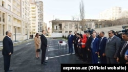 При участии президента Ильхама Алиева и Мехрибан Алиевой сдано в эксплуатацию здание для незрячих.
