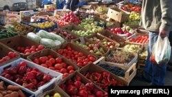Ринок «Привоз» у Сімферополі, архівне фото