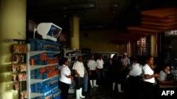 قطع برق در کاراکاس (عکس آرشیو)