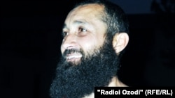 "Tajikistan/Vahdat city -- Parviz Tursunov, the player of tajik football club of ""Khair"" with beard, 18July2011"