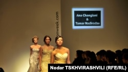Показ мод на Tbilisi Fashion Week, Тбилиси, 23 ноября 2010