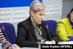 Іна Мядзьведзева, старшыня Нацыянальнага статыстычнага камітэту