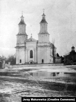Царква Сьвятога Язафата і манастыр базылянаў, 1912 год