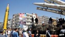 İranın Şahab və Zülfüqar raketləri