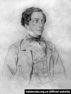 Племінник Погорільського Олексій Толстой у молоді літа (1830-і роки)
