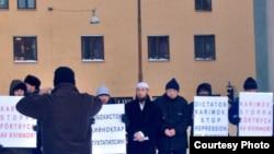 Протести против тортура во Узбекистан