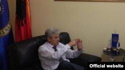 Претседателот на ДУИ Али Ахмети.