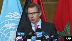 Специальный представитель ООН в Ливии Бернардино Леон.