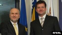 Valentin Inzko i Miroslav Lajčak, foto:Midhat Poturović