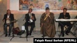 حسين الاعظمي في حفلة بعمّان