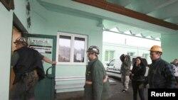 Спасенные польские шахтеры. 20 марта 2013 года.