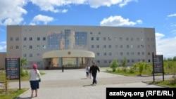 Здание больницы в городе Актобе. Иллюстративное фото.