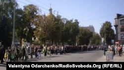 Рівняни проводять в останню путь Олександра Борисенка