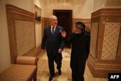 در دیدار نخستوزیر اسرائیل در مسقط