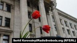 Дом Профсоюзов в Одессе. 2 мая 2015 года.