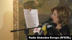 """Министерката за култура Елизабета Канческа-Милевска објавува документи за истрагата """"Тендери"""" на СЈО"""