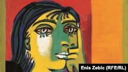 "Plakat za izložbu - Pablo Picasso ""Portret Dore Maar"""