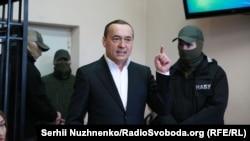 Микола Мартиненко під час засідання Солом'янського районного суду Києва, 21 квітня 2017 року