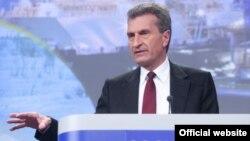 گونتر اوتینگر، کمیسر انرژی اتحادیه اروپا