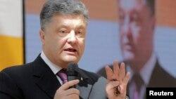 Президенттикке талапкер Петр Порошенко. 25-апрель, 2014-жыл.