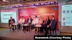 Sa konferencije u Beogradu, foto: Newsweek