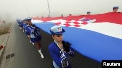 Zastava Hrvatske - ilustracija