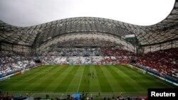 Pamje e stadiumit në Marsejë para ndeshjes Franca - Shqipëria