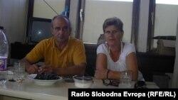 Стечајци од здружението УНИТ од Куманово.