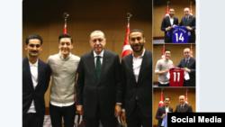 Mesut Ozil - i dyti nga e majta.