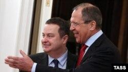 Lavrov dhe Daçiq. Moskë, 19 dhjetor 2014.
