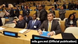 Лилиан Дарий на заседании Генеральной ассамблеи ООН