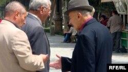 Pensionerlər. Foto arxiv
