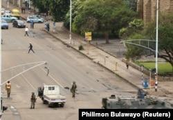 Переворот в Зимбабве. 15 ноября