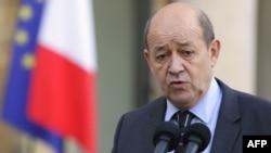 ژان ایو لو دریان، وزیر دفاع فرانسه.