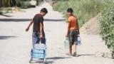 Kyrgyzstan-Bishkek-Jenish-Prigorodnoe-water-problem-summer