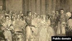 Свадьба королевы Великобритании Виктории и принца Альберта (10 февраля 1840 года). Сегодняшних британцев викторианские традиции не вдохновляют.