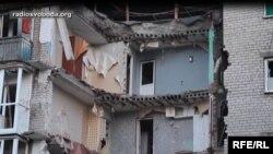Донбас, наслідки обстрілу, ілюстраційне фото